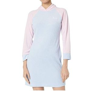 NWT Juicy Couture ColorBlock Microterry Dress, L